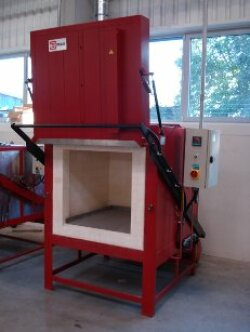 Chamber kiln for annealing, model KKR 08.1.08-9
