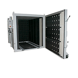 Ovens for surface finishing